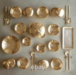 100% Hand-made Korean Yugi Bowl & Plate Set, Dinnerware / by Artisan