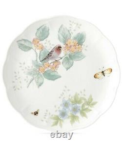 12pc Place Setting Lenox Butterfly Meadow Flutter Birds Dinner Bowls Cups Plate