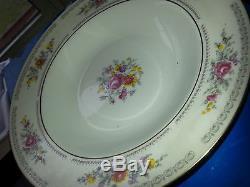 1777 HENNEBERG JLMENAU GERMAN DEMOCRATIC REPUBLIC PORZELLAN Dinner Plate Set