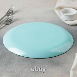 18-pc DINNER SET, Luminarc Arpegio Turquoise Plates Set, Tempered Glass