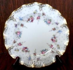 20 pc. 4 Pl Setting Royal Crown Derby Dinnerware, Royal Antoinette Pattern