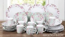 32-Piece Dinner Set Plates Bowls Mugs Dinnerware Crockery Dining Service for 8