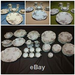 58 Piece Set! Haviland & Co. Limoges Schleiger 226-1 (1888 1896) China France