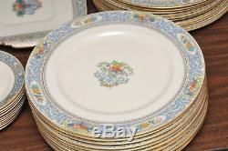 61 Piece Lenox Autumn China Set Dinner Salad Plate Cup Saucer