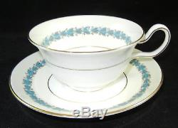 62 Pieces Wedgwood England Appledore 12 Dinner Salad Bread Plates Cups & Saucers