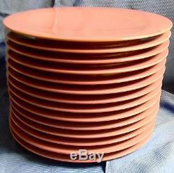 68 pc Set Tupperware Melamine Gestures Purple Green Salad Dinner Plates Bowl Cup