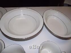 78pc Service for 12 ppl Dinner Plate China SET +4 Servng Noritake Marseille 7550