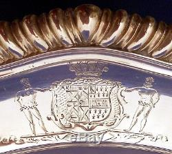 A set of 6 George III sterling dinner plates, London 1815