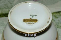 ANTIQUE RICHARD GINORI Italy FAENZA SET 91 piece DINNER PLATE SERVING PIECES EXC