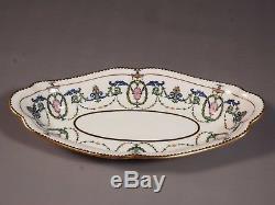Antique Minton H2581 Dinner Set Plate Soup Tureen Neoclassical Adam 1913 Birks