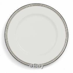 Arte Italica Set of 4 Perlina Dinner Plates