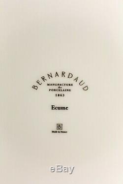 Bernardaud Ecume White Dinner Set for 8
