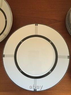 Bernardaud Limoges WIENER Set of 8 Dinner 8 Salad 8 Soup 8 B&B Plates Signed
