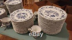 Blue Danube China Set 121 pcs (Lightly Used)