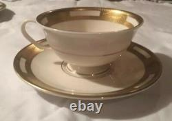 Cartier 40pc Dinner Plate Set Service 8 Limoges Fine Bone China NEW Tiffany & Co