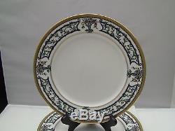 Christian Dior FLORISSANT Dinner Plates 10 7/8 Set of 4 (b)