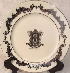 DISNEY HAUNTED MANSION DINNER PLATE SET MASTER GRACEY CREST 3pc PLACE SET GIFT