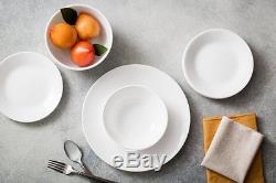 Dinnerware Set 74 Piece Dishes Plates Bowls Kitchen Dinner Service For 12 New