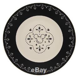 Disney Parks Disney Kitchen Mickey Icon Ceramic Dinner Plate Set of 6 New