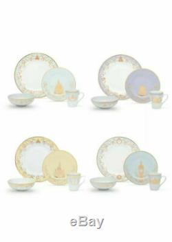 Disney Princess Dinnerware Set Plate Mug Bowl Mug Dinner Table Ceramic Pastel