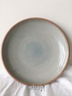 East Fork Pottery Retired- Wheel thrown Mars/Soapstone- Set of 2 Dinner Plates
