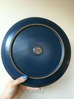 East Fork Pottery Wheel Thrown Indigo Dinner Plates (Set of 4)