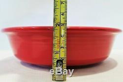 Fiesta Fiestaware New 2nds 8 Place Settings Dinner Side Salad Plates Bowls Lot