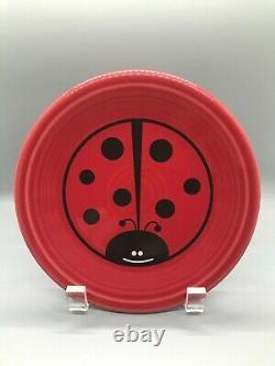 Fiesta Ladybug 4-Piece Place Setting Betty Crocker Dinner Salad Plate Bowl Mug
