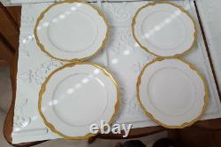 Franconia Krautheim (Jewel) dinner PLATES SELB BAVARIA GERMANY 12 Set of 4