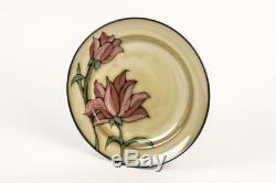 Glazed 16 Piece Pink Flower Dinner Plate Country Kitchen Floral Dining Set