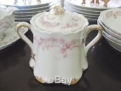 Haviland 475d Dinner Set 21 Pc Limoges China Plates Bowls Serving Pcs Antique