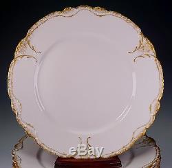 Haviland France Limoges China Schleiger 133 Set of 6 Dinner Plate Plates 9 7/8