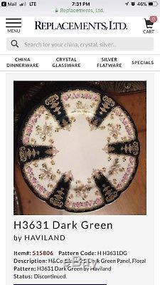 Haviland Limoges Dinner Plates Set Of 12