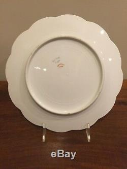 Haviland Limoges Schleiger 72 Double Gold Floral Dinner Plate Set of 4 (B)