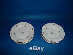 Herend Antique 12 piece dining set porcelain