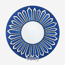 Hermes Bleus D'ailleurs Pair Of Dinner Plates (set Of 2) #p030001p Brand Nib F/s