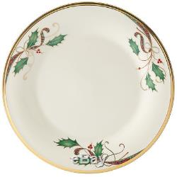 Holiday Nouveau Gold Dinner Plate by Lenox Set of 8