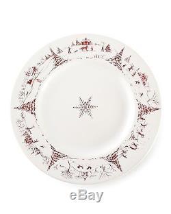 Juliska Country Estate DINNER PLATES Ruby, SET OF 4