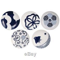 KIHARA KOMON Imari Porcelain Arita Yaki Mamezara & Torizara Plate set from Japan