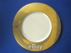 L'OBJET Portugal Set of 8 CLASSIC GOLD Handmade 11 Dinner Plates