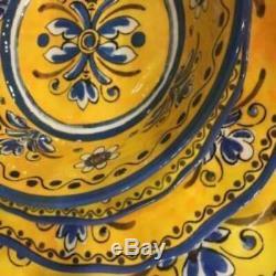 Le Cadeaux Benidorm Dinner Salad Plates Cereal Bowls 12-Piece Dinnerware Set