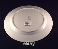 Lenox Christmas Holiday RED DINNER Plates Set of 4 Brand New with Tags