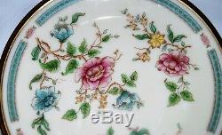 Lenox MORNING BLOSSOM China Made in USA set of 12 dinner plates 10.5 diameter