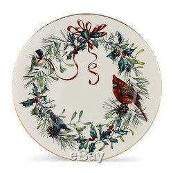Lenox Winter Greetings 10.75 Dinner Plate Set of 6