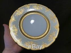 Lenox X1445/G74I Cabinet Dinner Plates Set of 8 10 3/4 Dia Gold Encrusted