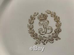 Louis Philippe Sevres Service Des Princes Dinner Plates Set of 16 -9 5/8 D 1846