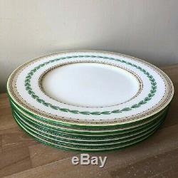 Lovely Minton Ashbourne Set of 6 Dinner Plates