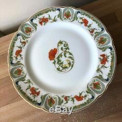 Lovely Set of 5 Haviland Limoges Mozart Chantoung Dinner Plates