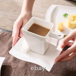 MALACASA, Series Flora, 30-Piece Dinner Set Wave Shaped Plates Service for 6