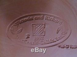 Mackenzie Childs 11 3/8 Assorted Dinner Plates Set of 8